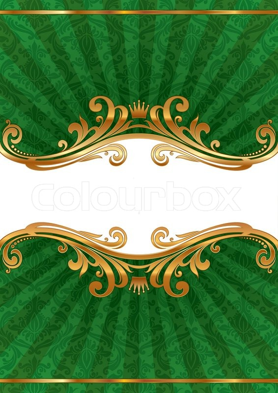 Luxury Ornate Vector Llustration With Stock Vector Colourbox