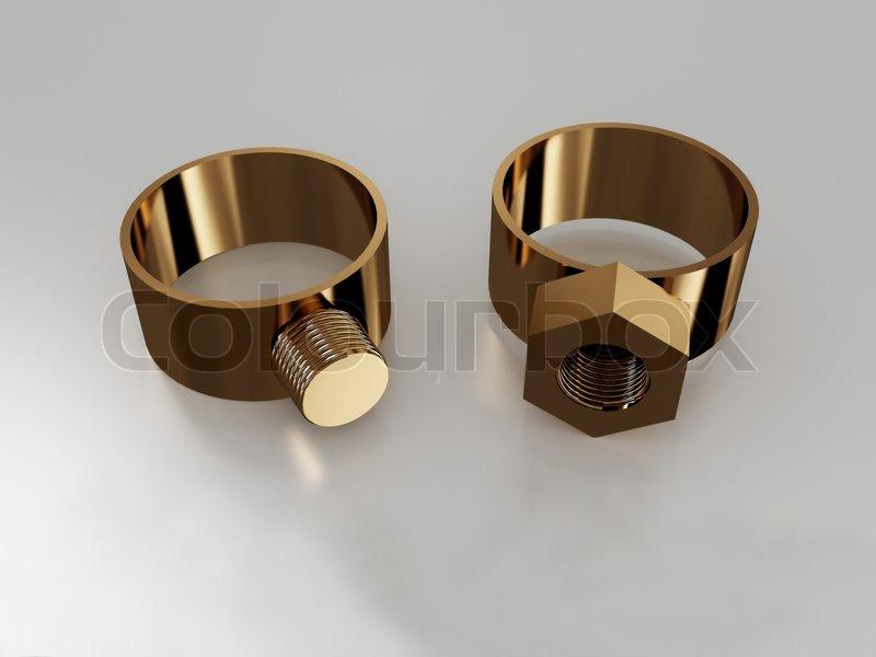 25 Lovely Nut And Bolt Wedding Rings Navokal Com