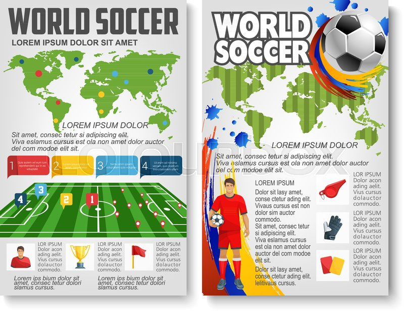 world soccer cup game or football sport championship information