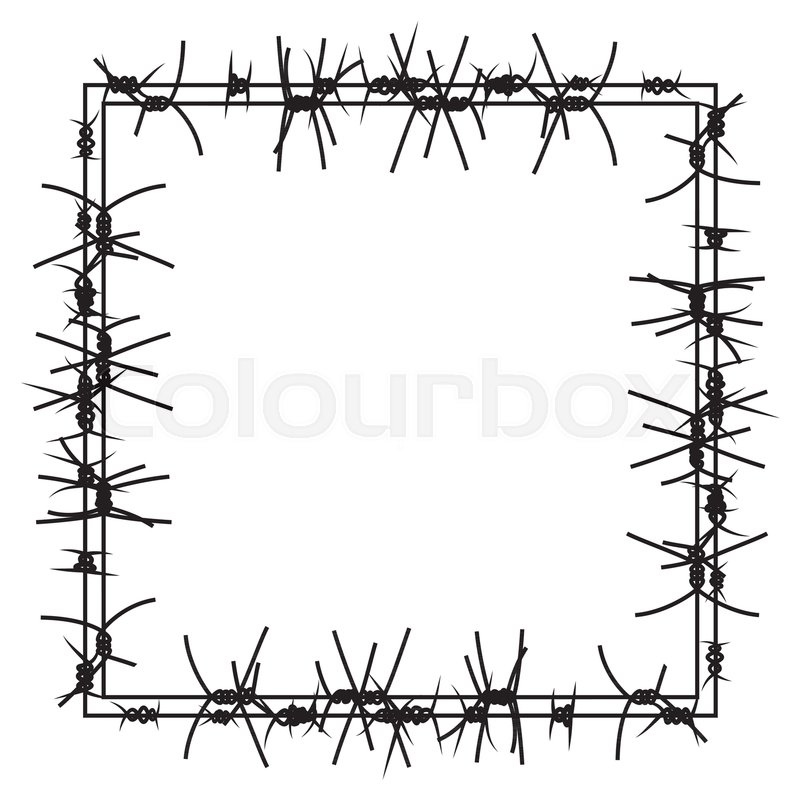 Fancy Barbed Wire Crafts Illustration - Wiring Diagram Ideas ...