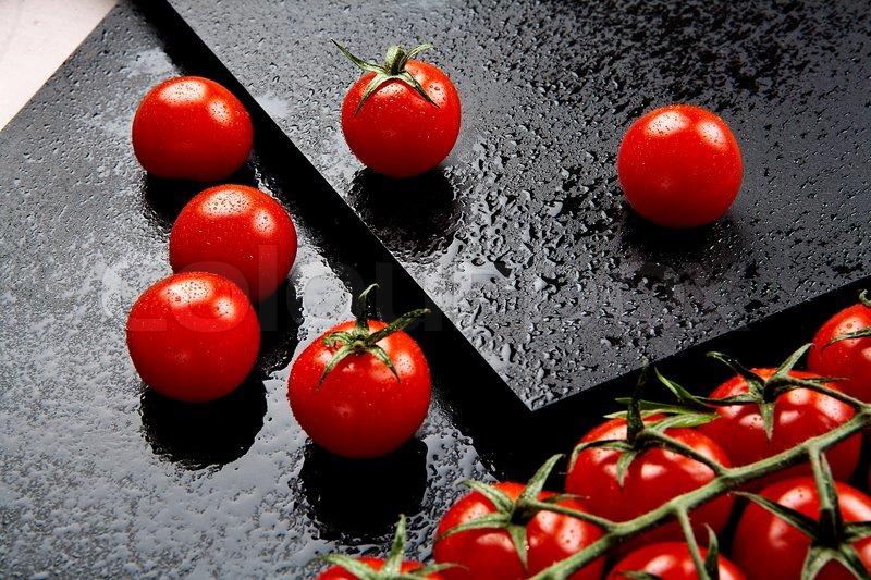 Danish ingredients from the garden and kitchen garden, stock photo