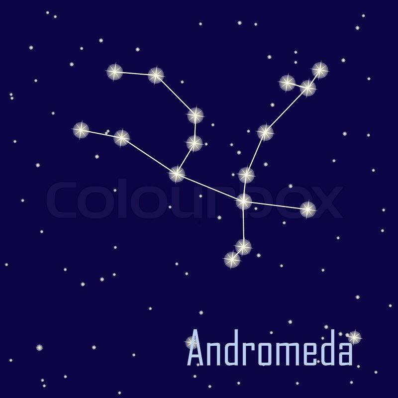 The Constellation  U0026quot  Andromeda U0026quot  Star In