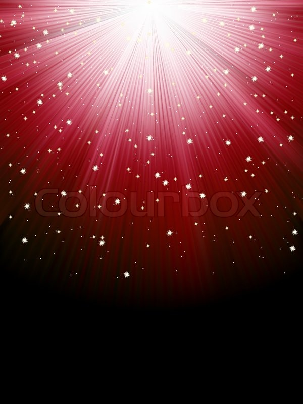 stars on red striped background festive pattern great for winter or