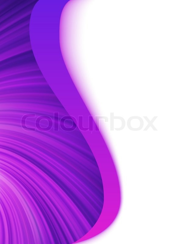 Purple and white abstract