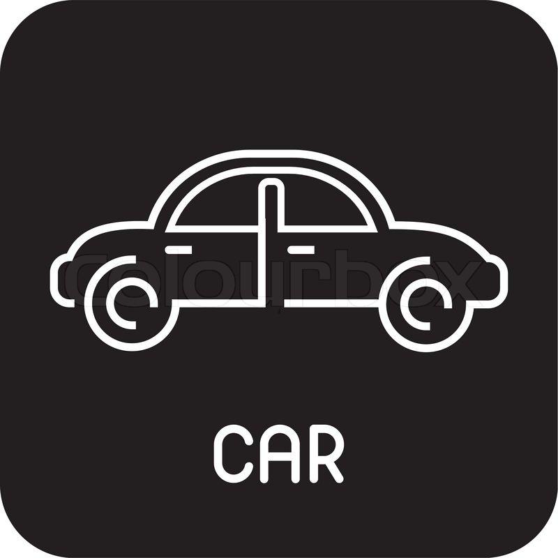 kan bruges som logotype logo til bil selskab stock