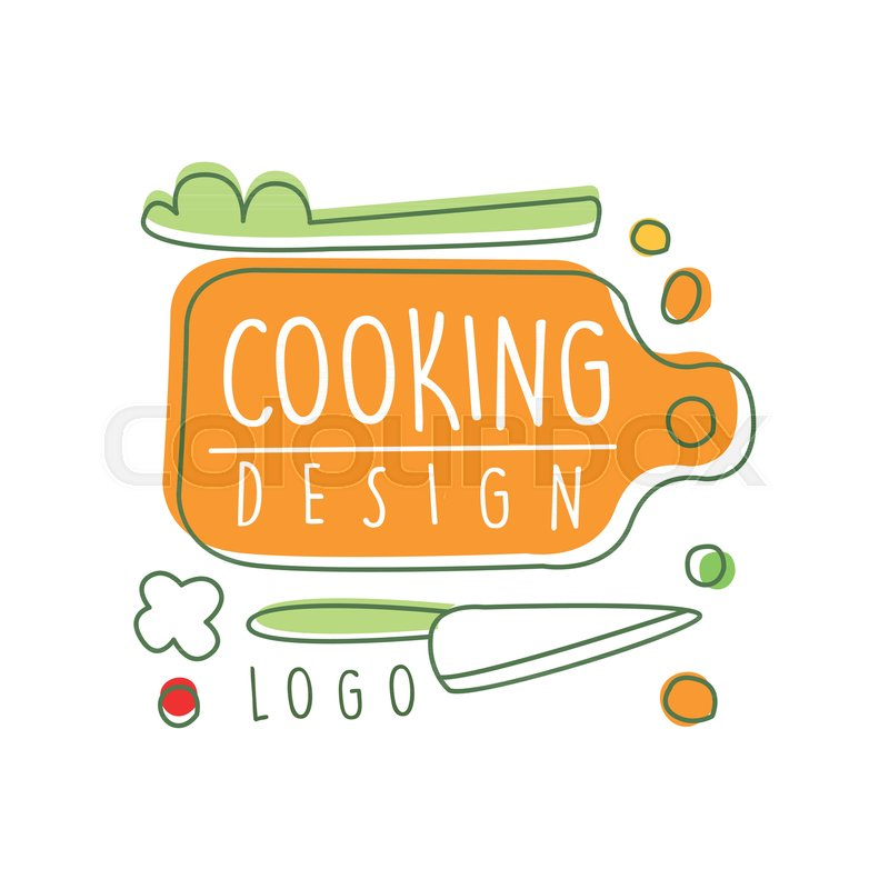 Original Cooking Logo Design With Stock Vector Colourbox