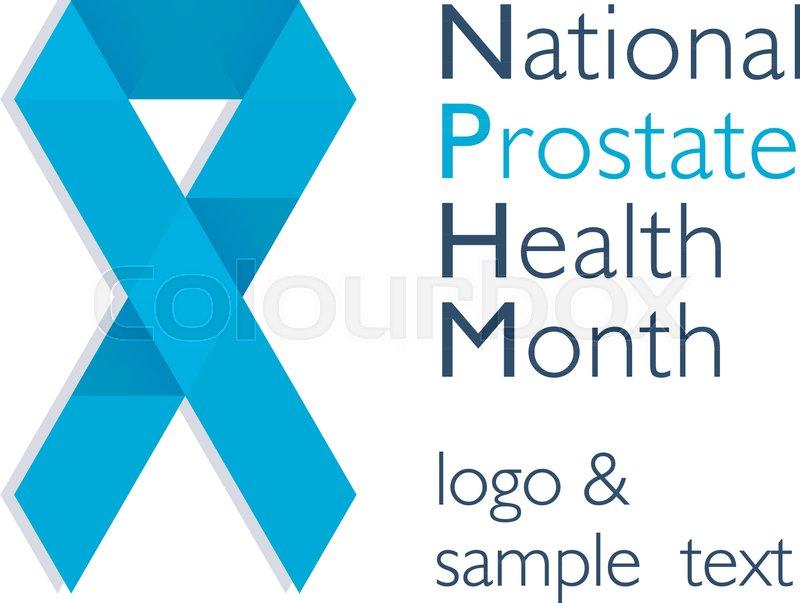 e99459183b2 Men health prostate cancer November ... | Stock vector | Colourbox