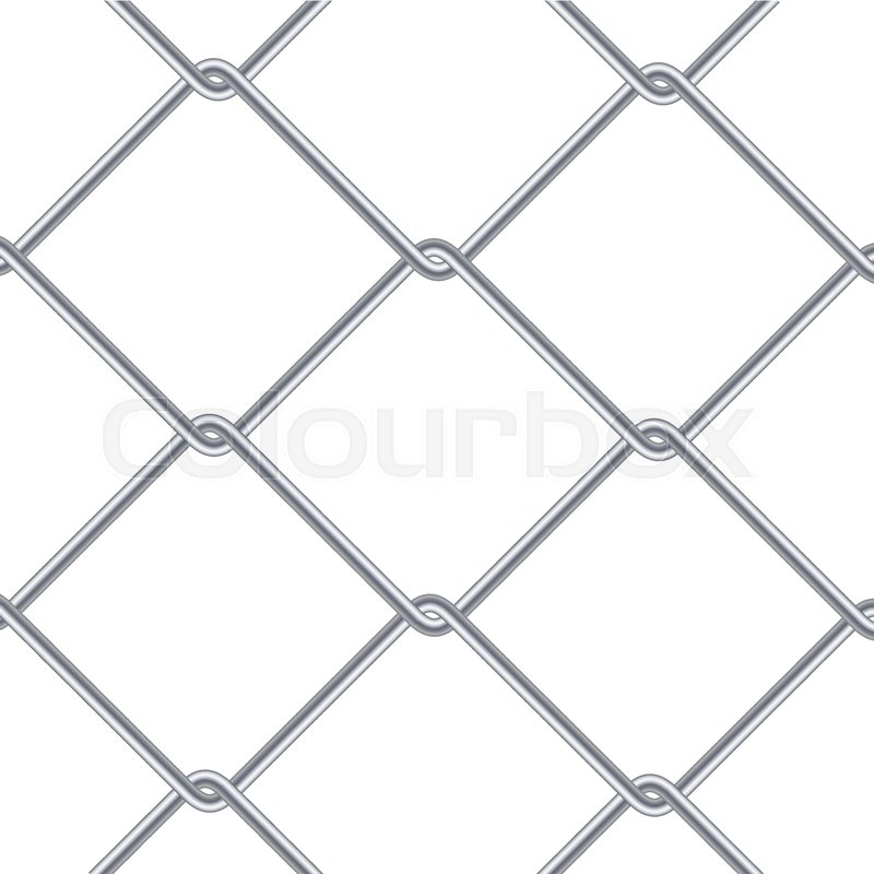 Chain Link Fence Background. Industrial Style Wallpaper. Realistic ...