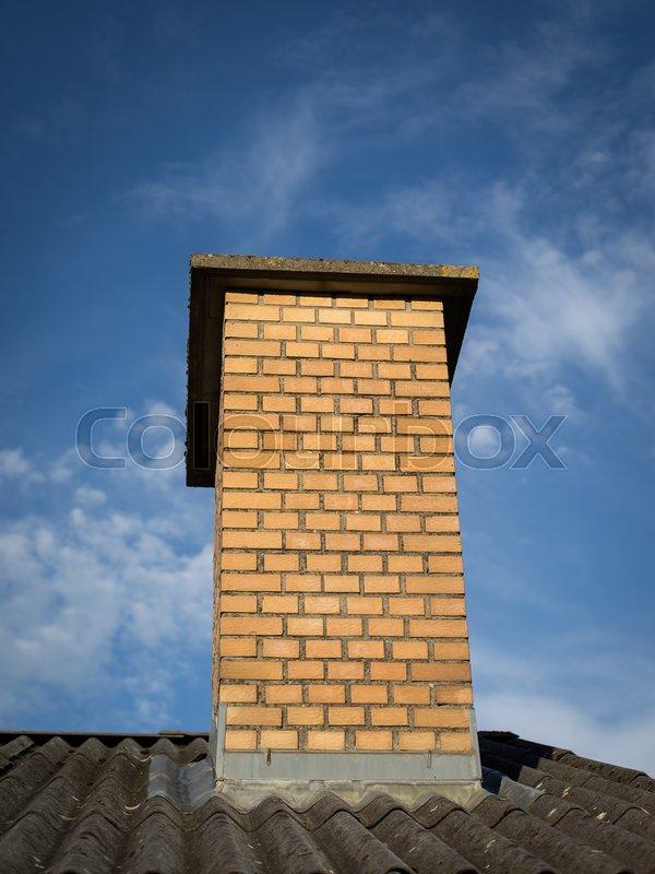 Groovy Muret skorsten | Stock foto | Colourbox WM22