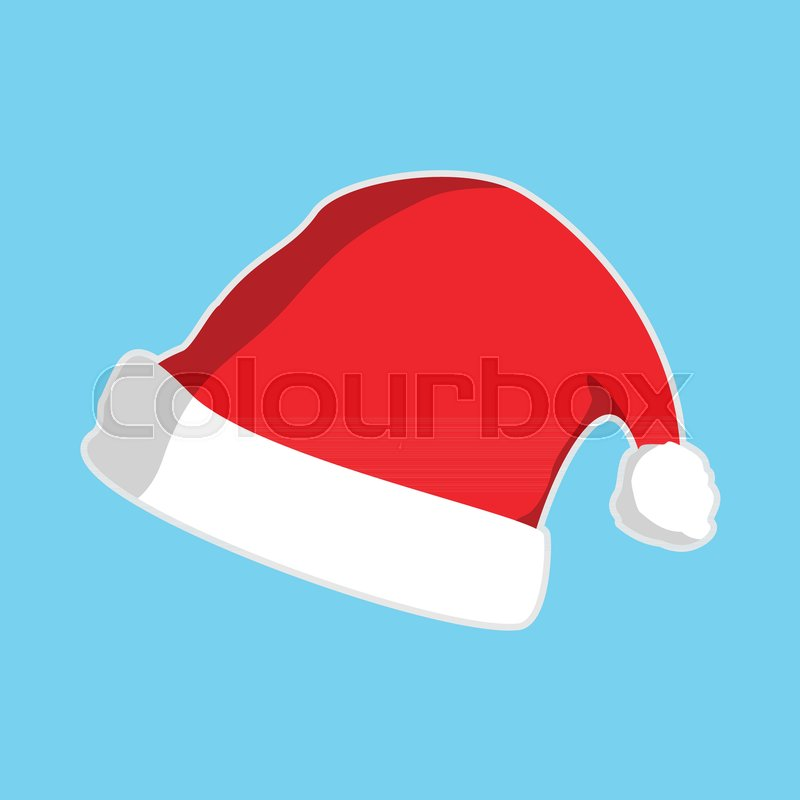 christmas hat vector graphic illustration sign symbol design stock rh colourbox com