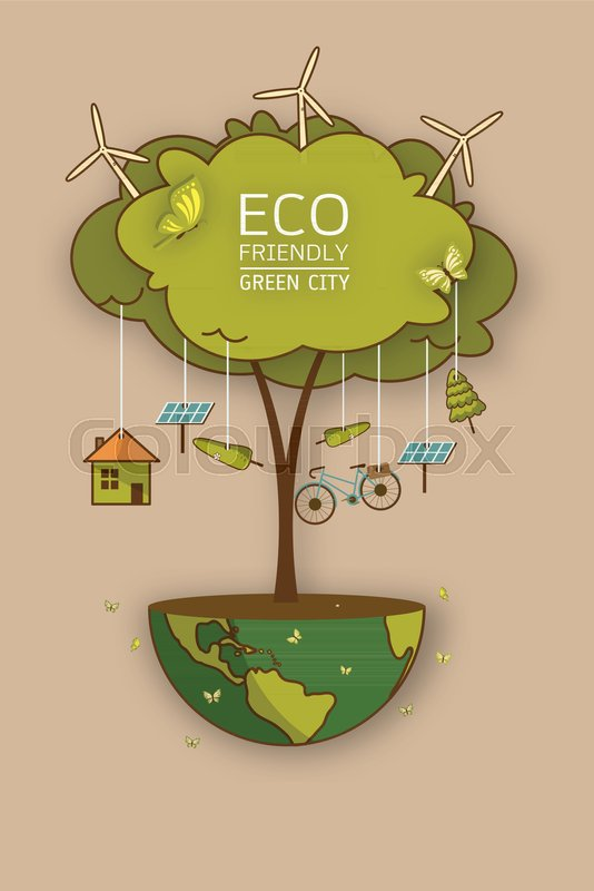 Background For Save Earth Day Environmental Ecology Nature Protection And Pollution Concept