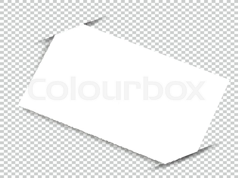Blank business card with shadow mockup cover template stock blank business card with shadow mockup cover template stock vector colourbox reheart Gallery