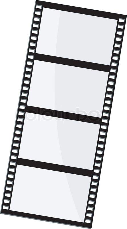 Vektor Illustration Von Film Frame Vektorgrafik Colourbox