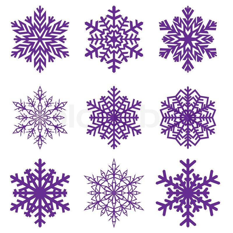 Decorative snowflake Vector illustration | Stock Vector ...