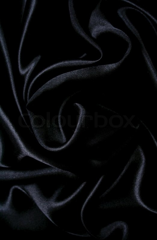 smooth elegant black silk - photo #8