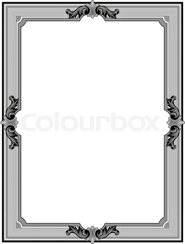 Ornamental Frames | Stock Vector | Colourbox