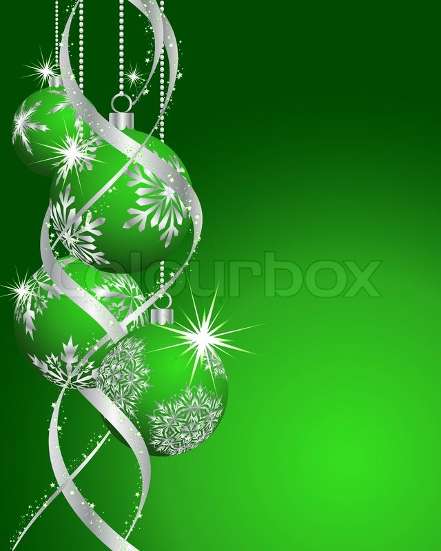 beautiful vector christmas new year card for design use stock vector colourbox
