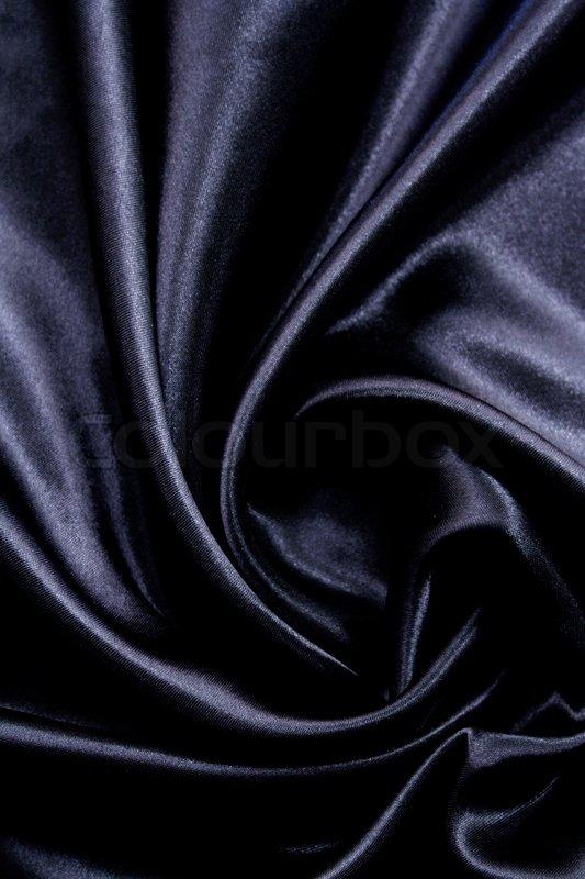 smooth elegant black silk - photo #9