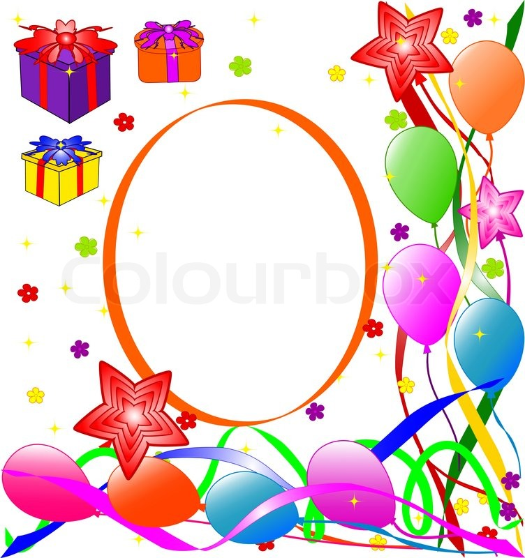 Happy Birthday background | Stock Vector | Colourbox