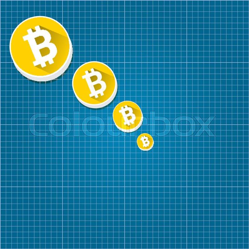 Vector bitcoin market crash graph on blueprint background bitcoin stock vector of vector bitcoin market crash graph on blueprint background bitcoin hype concept malvernweather Images