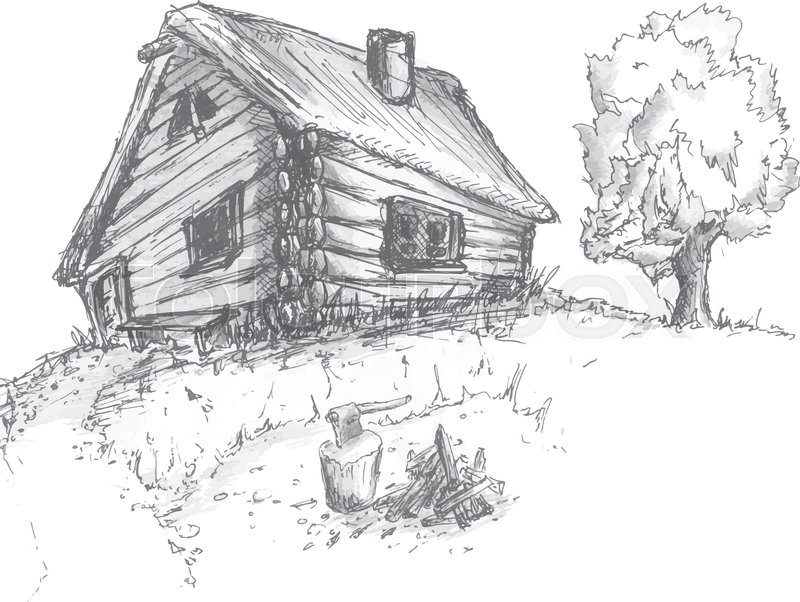 It's just an image of Ridiculous Abandoned House Drawing