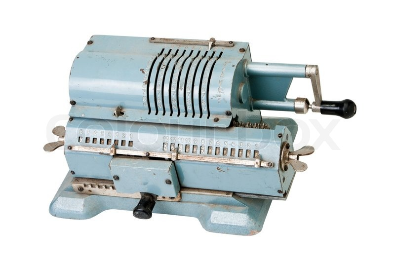 gamle regnemaskiner
