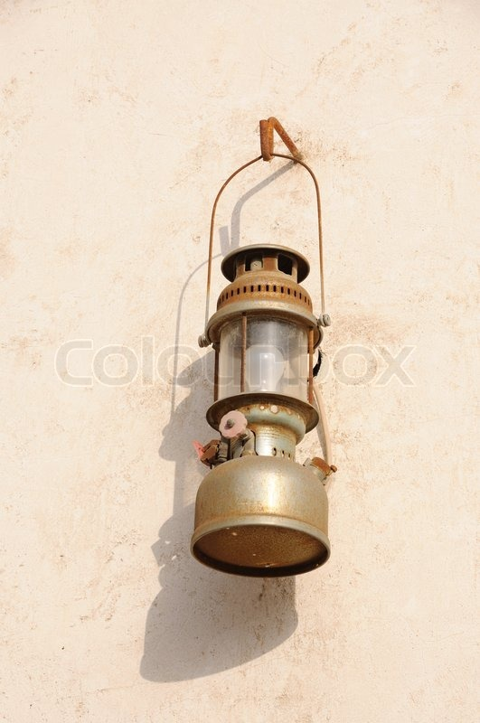 Traditional Arabic Oil Lamp | Stock Photo | Colourbox