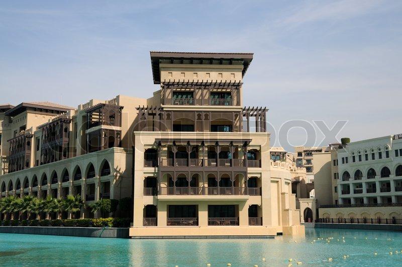 Arabic style architecture in dubai united arab emirates for Architecture arabe