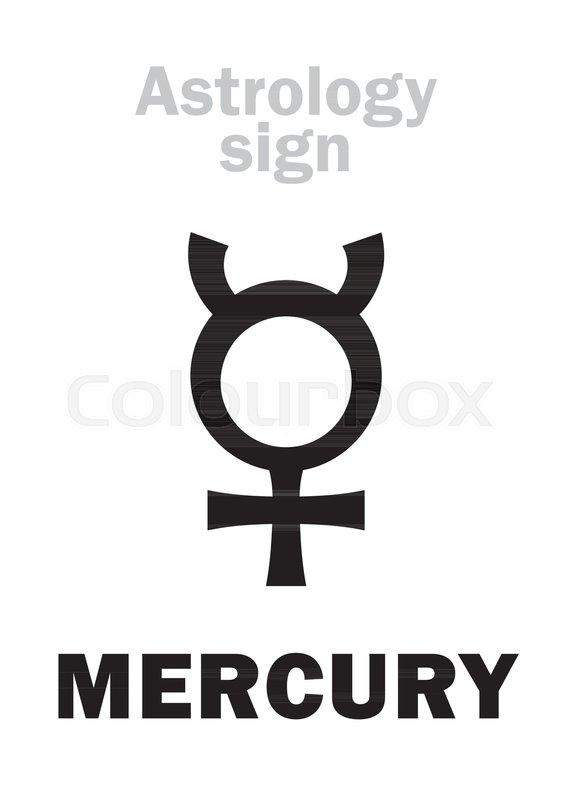 Astrology Alphabet Mercury Classic Mental Minor Planet