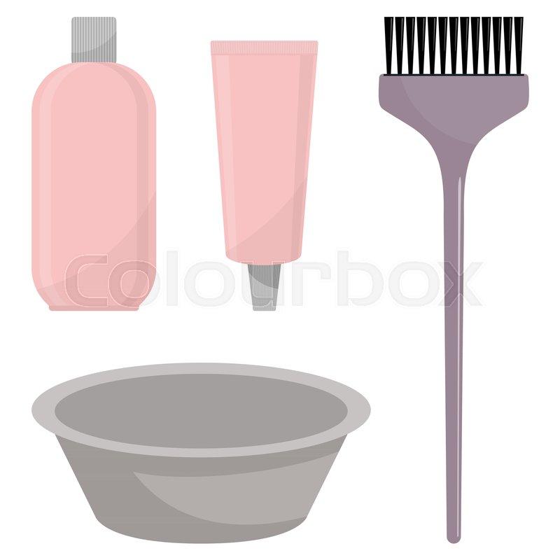 Hair Dye Oxidizer Hair Dye Brush And Mixing Bowl Hair Coloring