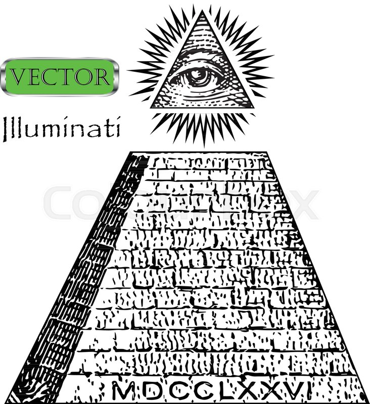 One Dollar Pyramid New World Order Illuminati Symbols Bill