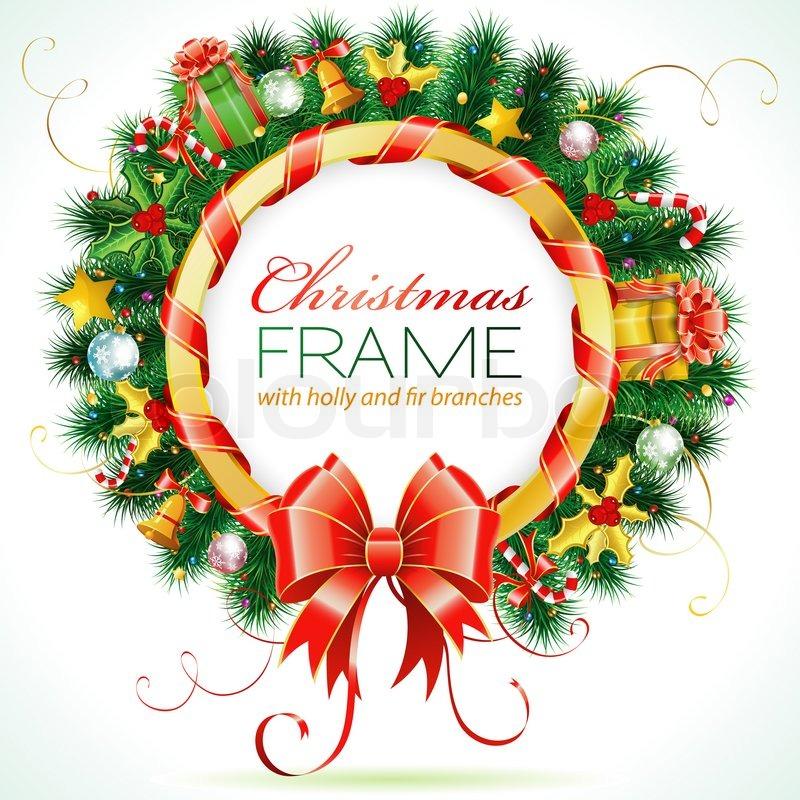 dekorative weihnachten kranz mit schleife candy und deko. Black Bedroom Furniture Sets. Home Design Ideas
