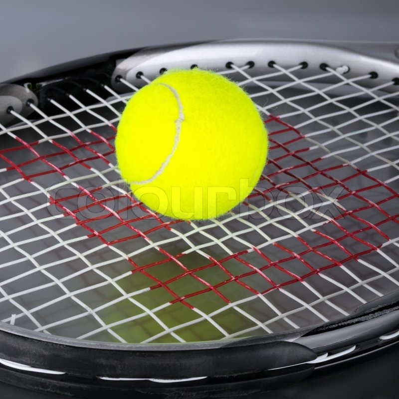 how to draw a tennis ball and racket