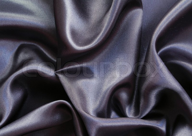 smooth elegant black silk - photo #27