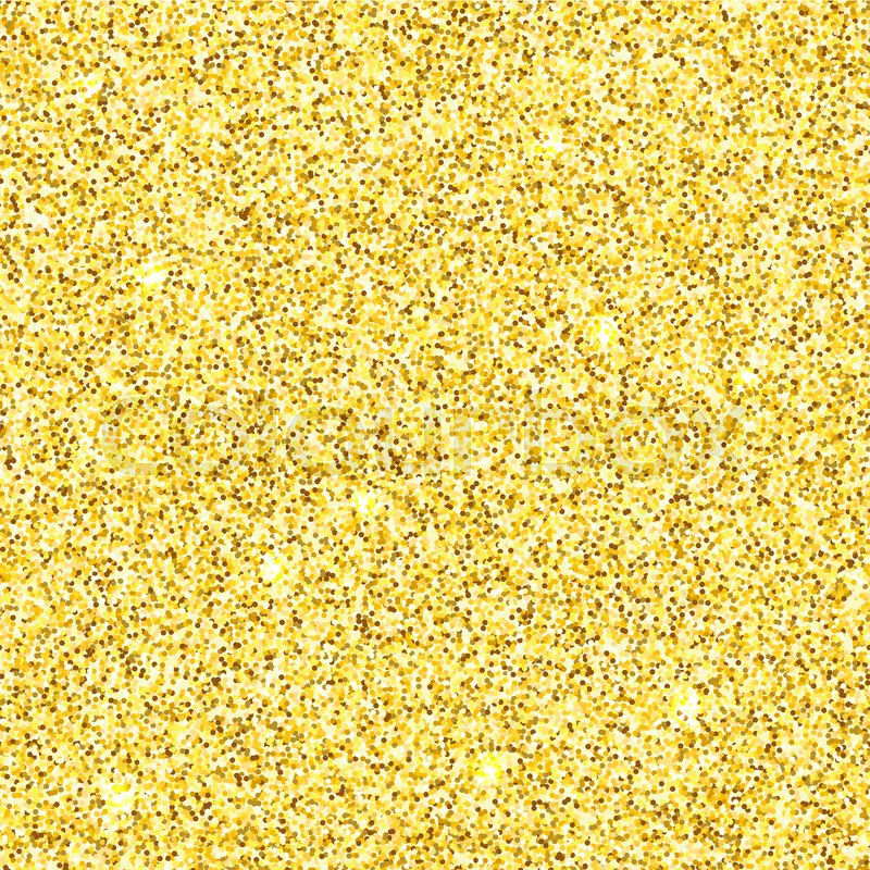 Bright Gold Glitter Texture Vector Seamless Pattern Stock Vector Delectable Glitter Pattern