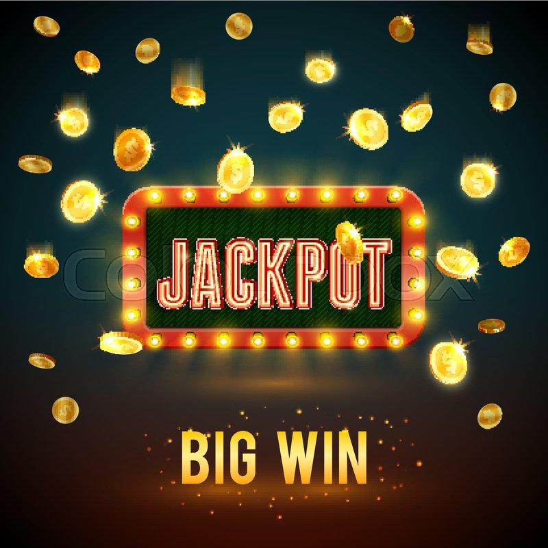 Slot machine - win-win-win-game. Illustration over white ...