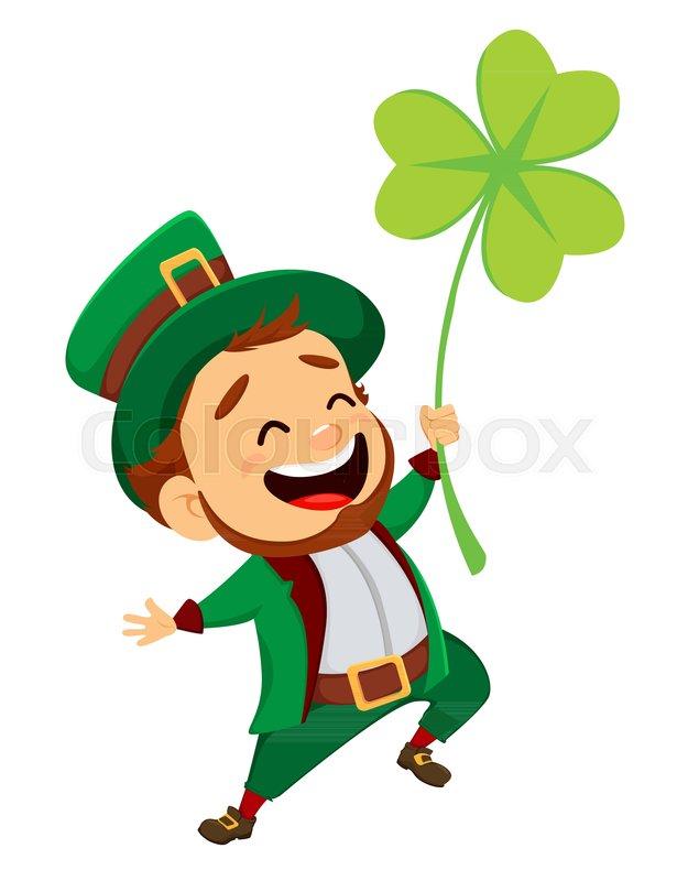 Happy Saint Patrick S Day Character Stock Vector Colourbox
