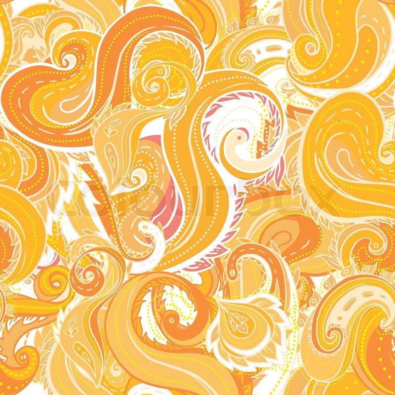 Nahtlose paisley muster trendige moderne tapeten oder - Moderne muster ...