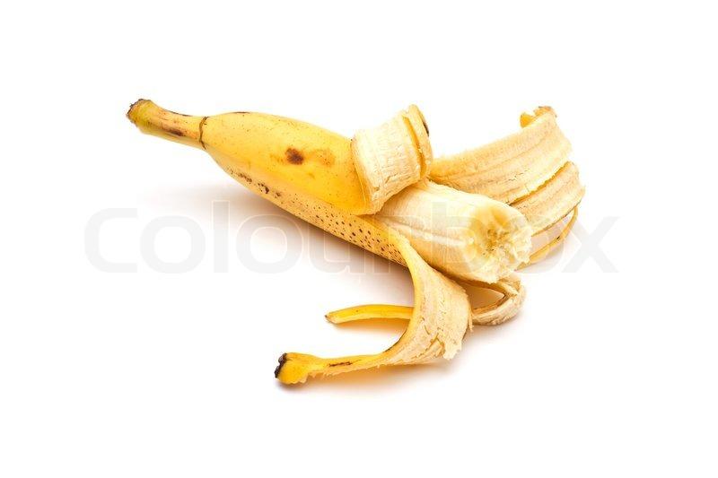 Half Peeled Banana Drawing