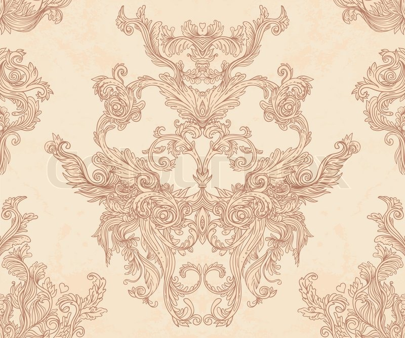 baroque print wallpaper - photo #13