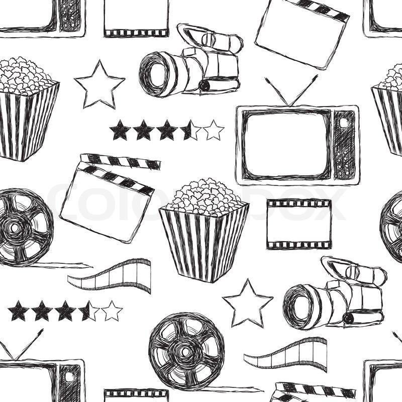 Film Kanister und Fotografie Set Free Vector -
