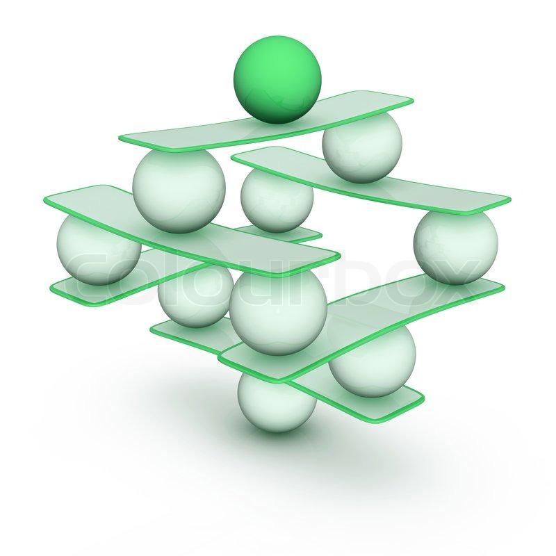 Perfect Balance Abstract Harmony Symbol Stock Photo Colourbox
