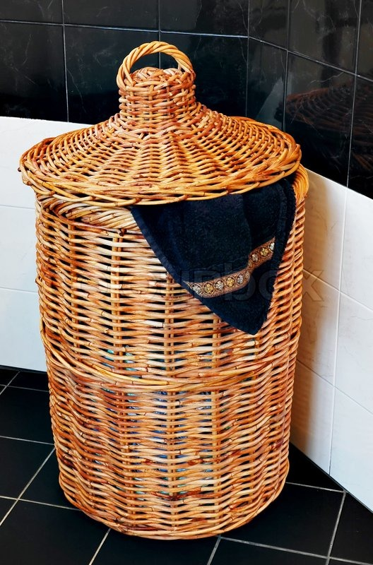 how to make a basket out of a towel