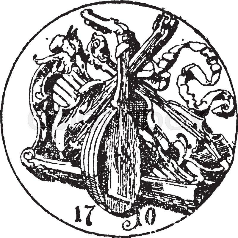 Violin Maker Symbol Guild In Klingenthal It Is A Symbol Is A Mark