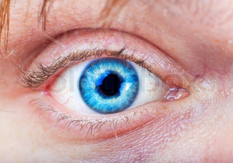 det blå øje