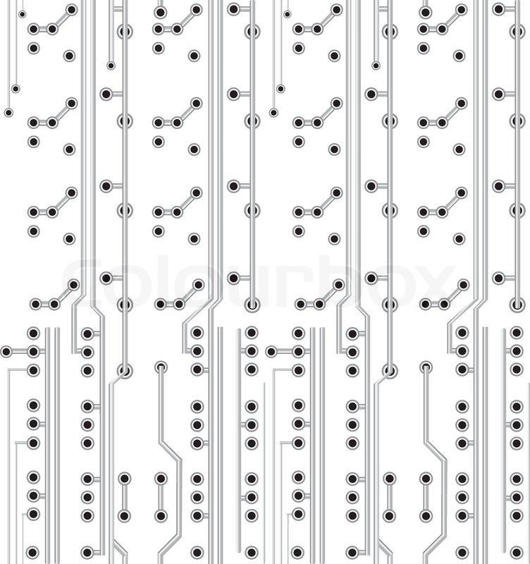 Network scheme. Electronic texture. Circuit board vector, technology ...