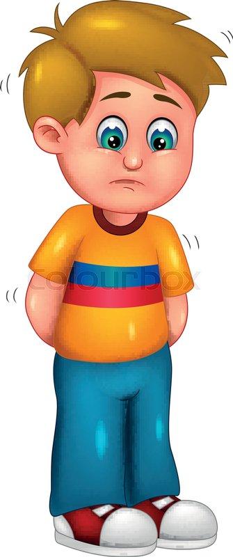 Vector illustration of cute boy ... | Stock vector | Colourbox