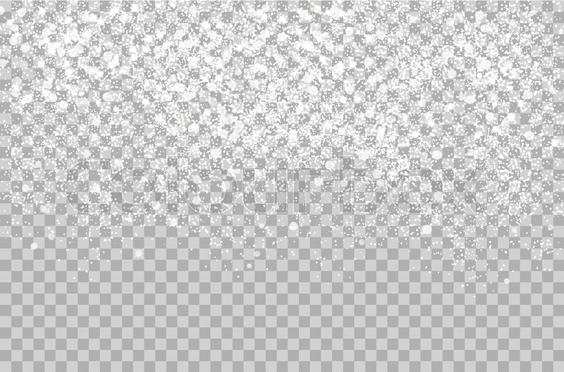 Winter Background Vector Free Vector Download 45 386 Free: Overlay Falling Shining Snow Isolated ...