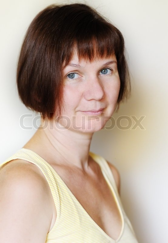 Attractive Middle-Aged Woman