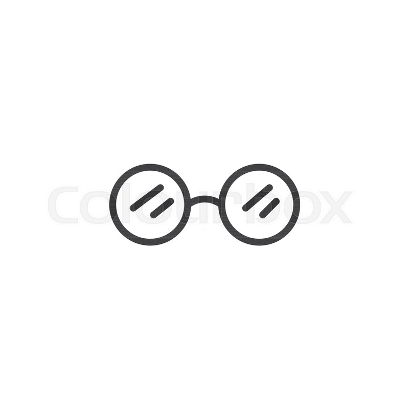 Sunglasses Outline Icon Linear Style Sign For Mobile Concept And